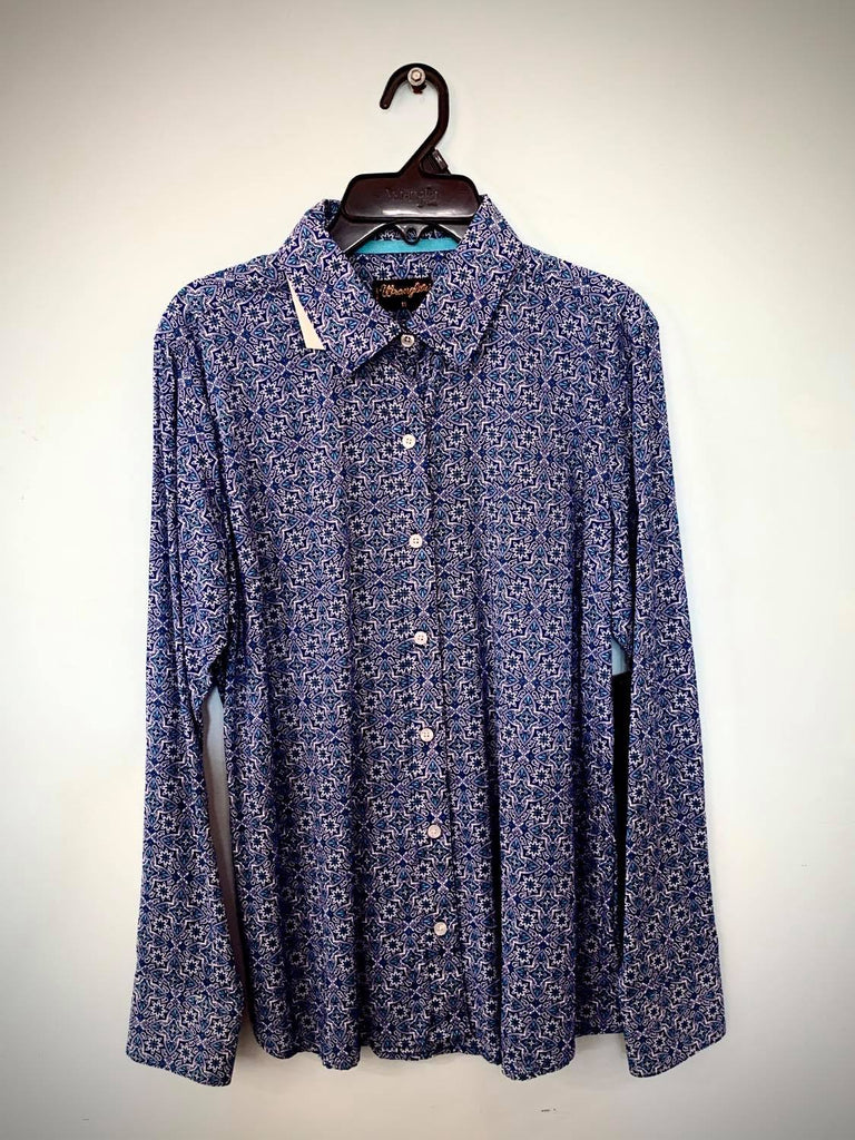 Wrangler Blue Shirt Size 14-Clothing-Morven News & Friendly Grocer