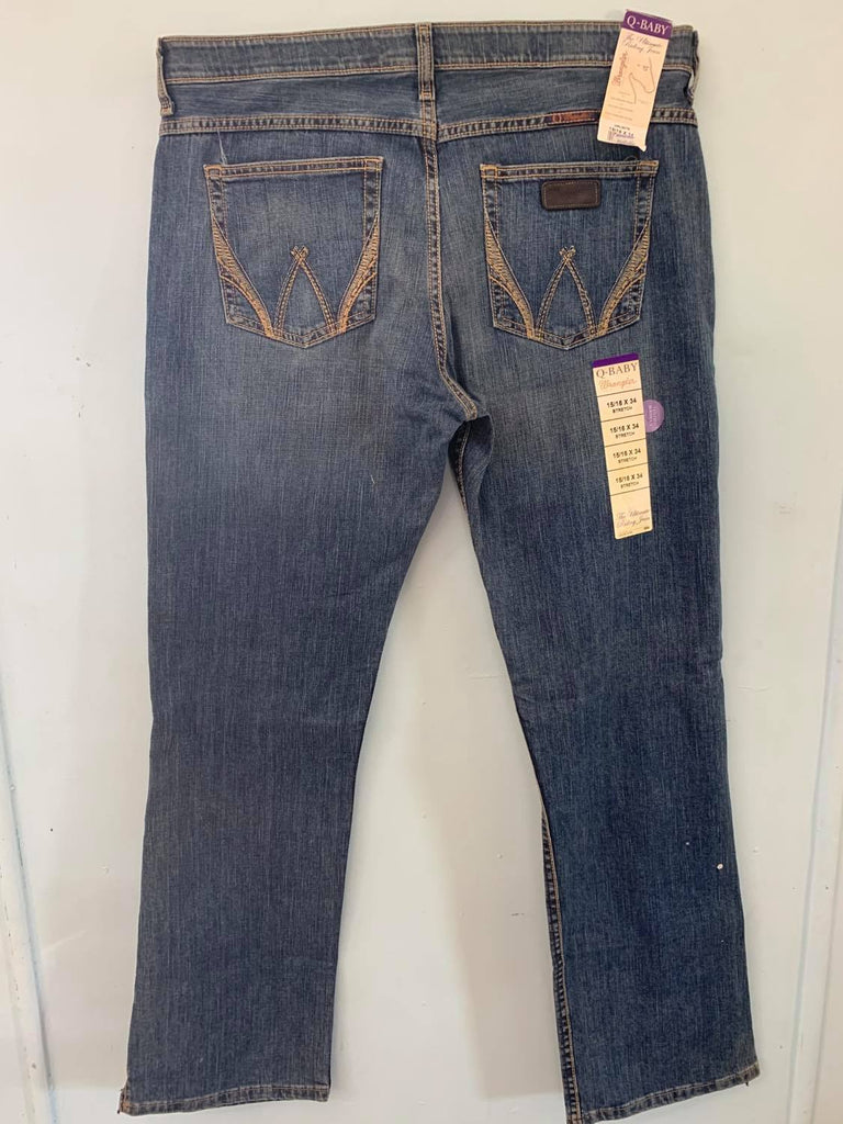 Wrangler Q-Baby Jeans Stretch 15/16x34-Clothing-Morven News & Friendly Grocer
