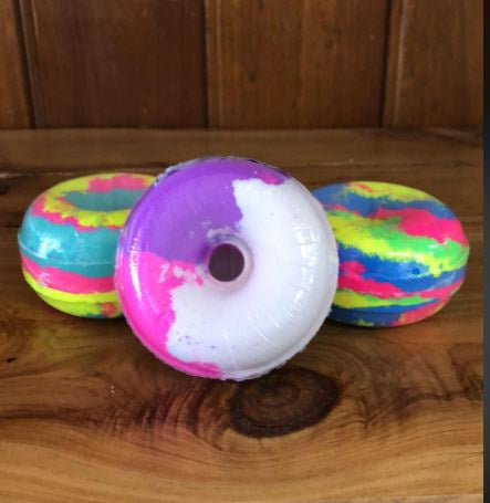 Zalicious Scents Donut Bath Bombs-Bath & Beauty-Morven News & Friendly Grocer