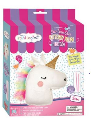SYO Glitter Pillow Unicorn-Toys-Morven News & Friendly Grocer