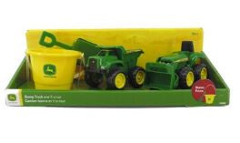 JDeere Tractors/ Dump TR Set-Toys-Morven News & Friendly Grocer