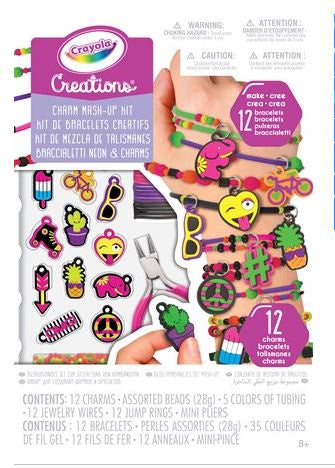 Crayola Creations Neon Charm Mash Up Kit-Toys-Morven News & Friendly Grocer