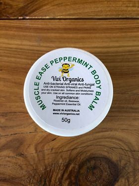 Vivi Organics Muscle Ease Balm 50g-Bath & Beauty-Morven News & Friendly Grocer