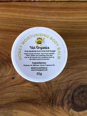 Vivi Organics Honey Balm 50g-Bath & Beauty-Morven News & Friendly Grocer