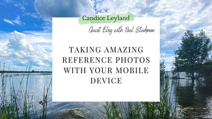 Taking Amazing Reference Photos with your Mobile Device - Guest Blog with Paul Studiman