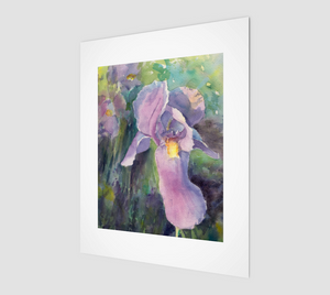 "Reawakening ""Purple Irises""- Fine Art Print"