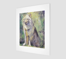 Load image into Gallery viewer, Lone Wolf - Fine Art Print