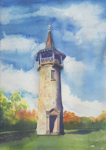 Pioneer Tower, Kitchener - Original Watercolour