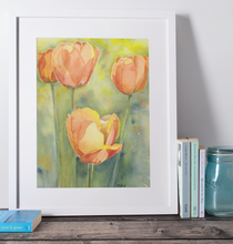 Load image into Gallery viewer, Golden Tulips - Fine Art Print