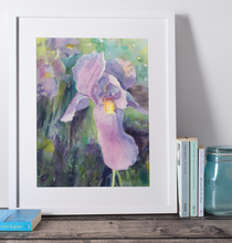 "Load image into Gallery viewer, Reawakening ""Purple Irises""- Fine Art Print"