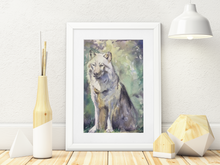 Load image into Gallery viewer, Lone Wolf - Original Watercolour