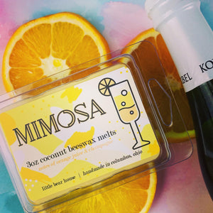 the best beeswax wax melts mimosa