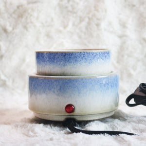 Blue Watercolor Electric Wax Warmer
