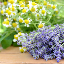 Load image into Gallery viewer, Lavender and Chamomile Bundles on Table Wax Scent
