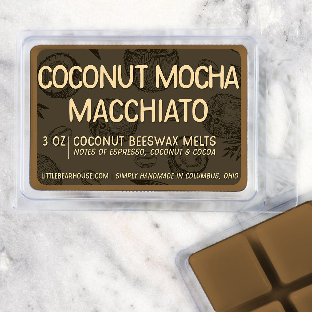Coconut Mocha Macchiato Wax Melts