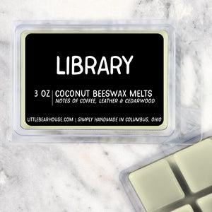 Library Strong Scented Beeswax Wax Melts