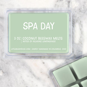 Spa Day Strong Scented Beeswax Wax Melts