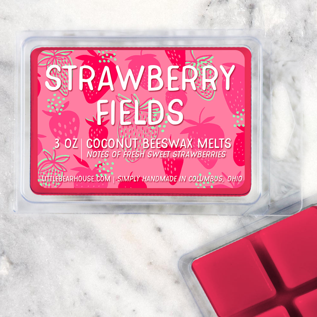 Strawberry Fields Wax Melts