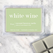 Load image into Gallery viewer, White Wine Strong Scented Beeswax Wax Melts