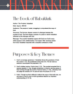 Load image into Gallery viewer, Book of Habakkuk: Study Guide (Digital Download)