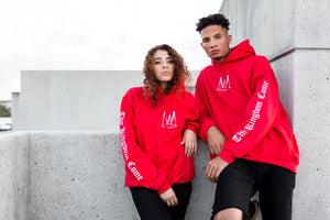 'Thy Kingdom Come' - Red Pullover Hoodie