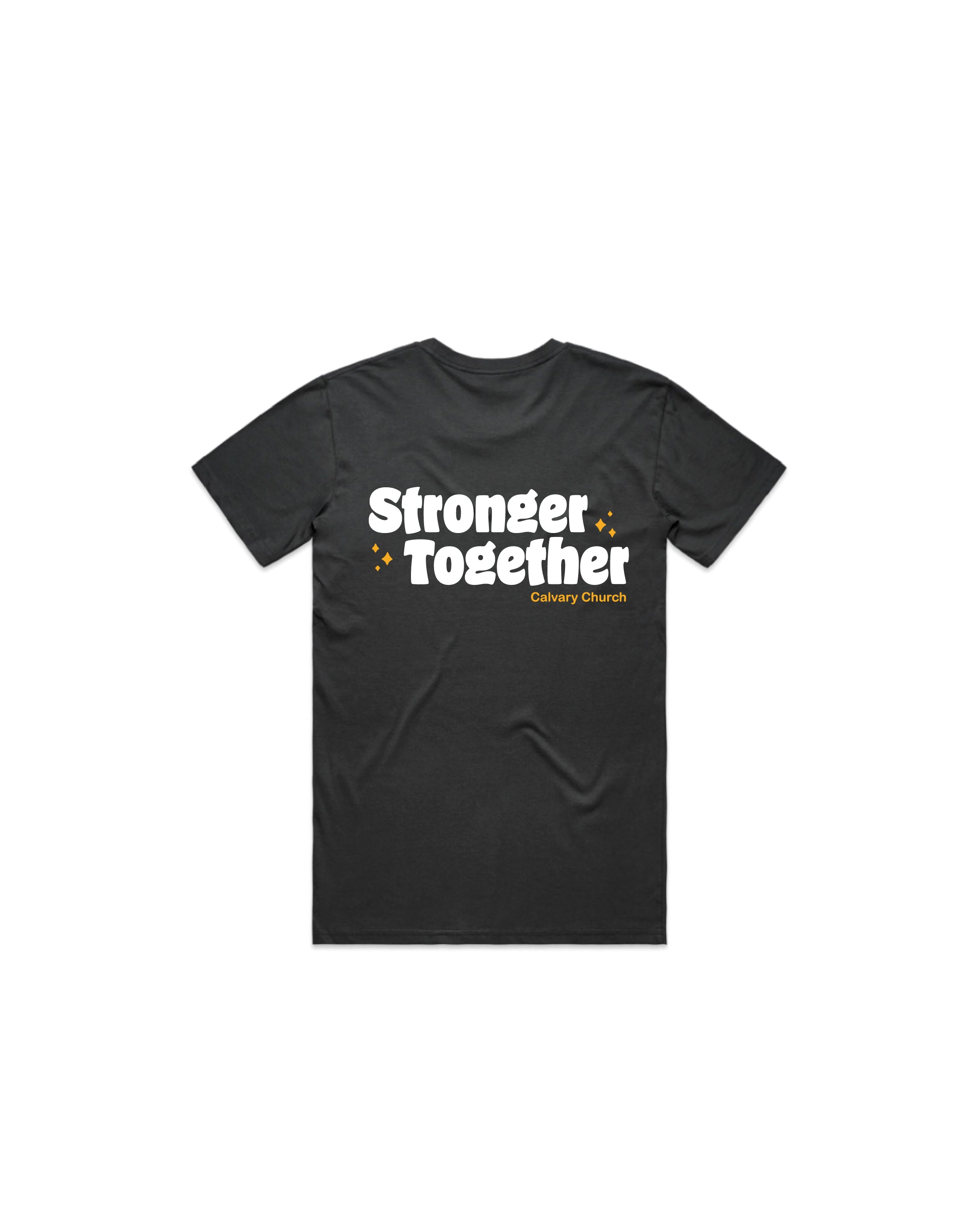 Stronger Together Coal T-Shirt