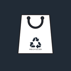 100% Recycled Packaging icon