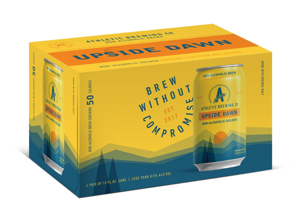 Athletic Brewing Upside Dawn Golden Ale - SoberDry