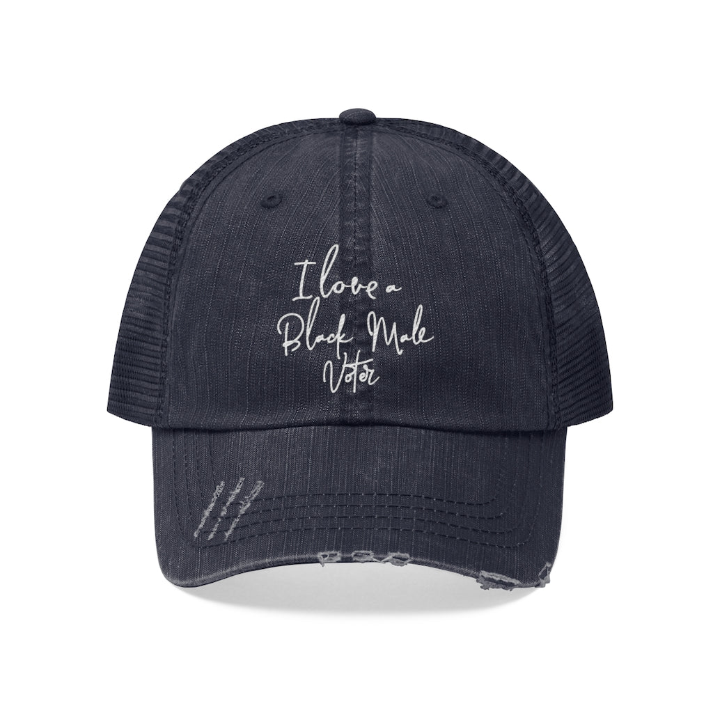 """I Love A Black Male Voter"" Mesh-Back Hat"