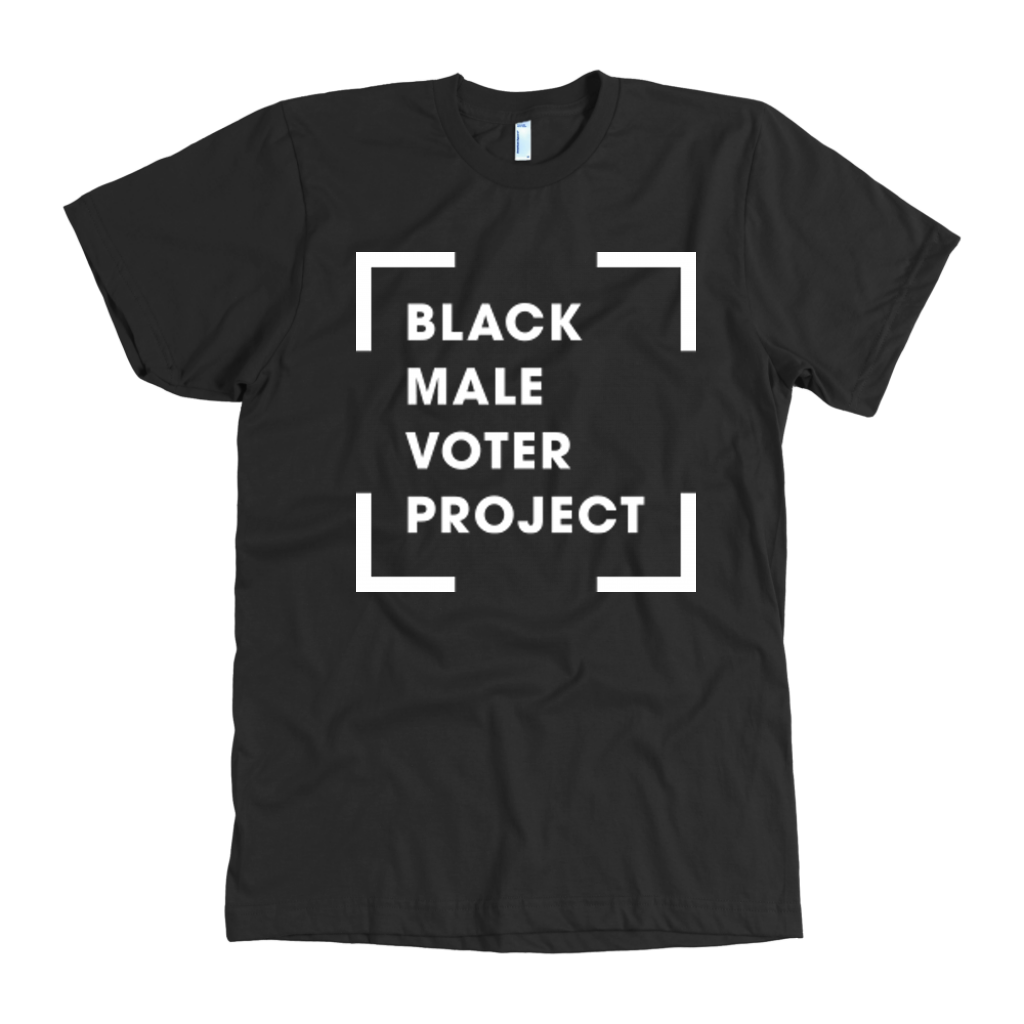 """Black Make Voter"" Logo Tee"