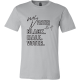 """My Partner is a Black Male Voter"" Tee"