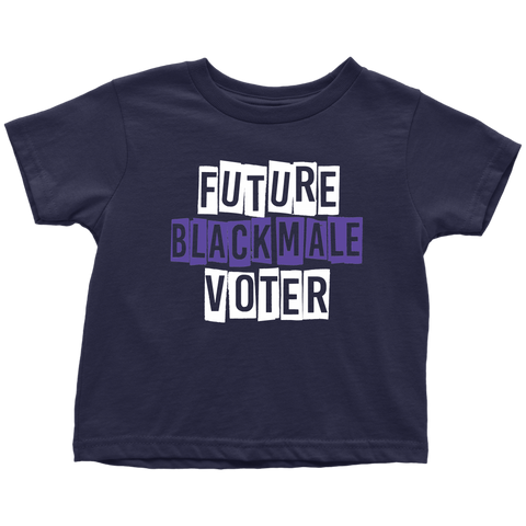 Future Black Male Voter Toddler Tee