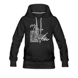 My Son is a Future Black Male Voter Women's Hoodie - black