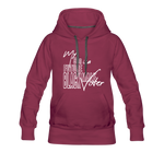 My Son is a Future Black Male Voter Women's Hoodie - burgundy