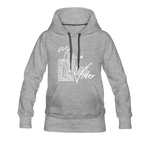 My Son is a Future Black Male Voter Women's Hoodie - heather gray