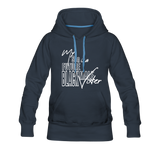 My Son is a Future Black Male Voter Women's Hoodie - navy