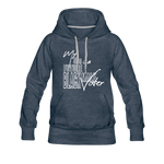 My Son is a Future Black Male Voter Women's Hoodie - heather denim