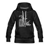 My Son is a Future Black Male Voter Women's Hoodie - charcoal gray