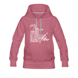 My Son is a Future Black Male Voter Women's Hoodie - mauve
