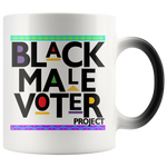 Black Male Voter Color Changing Mug