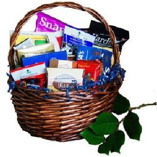 Snacks Galore Gift Basket