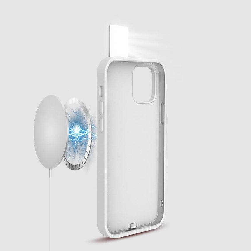 Magnetic Charging iPhone LED case with 3 modes lightning for iPhone iPhone 12 Pro / iPhone 12