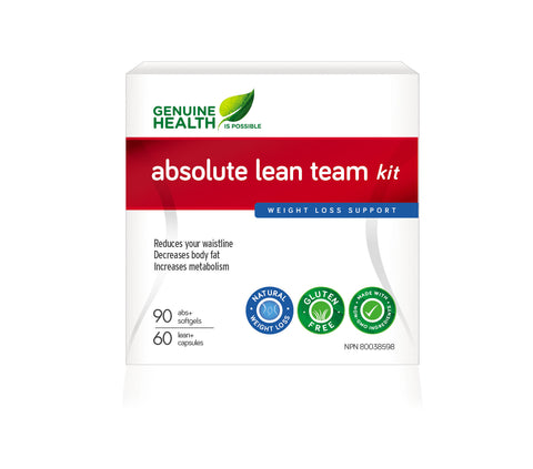 Absolute Lean Team Kit - Gives you faster way to lose your belly fat - Genuine Health | hh Health