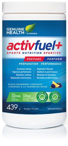 Activfuel+ - Prepare your workout with the right ingredients - Genuine Health | hh Health