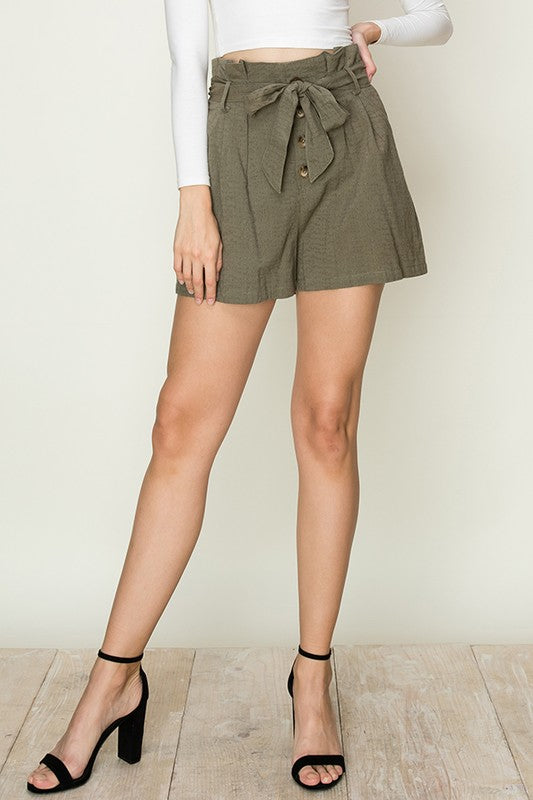The Jackie PaperBag Shorts