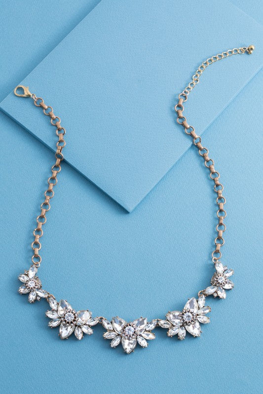 Opulent Crystal Necklace - Beau&Arrow