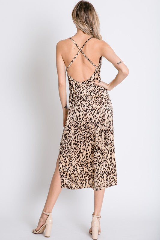 The Scarlett Leopard Midi Dress-Estimated Ship Date 3/1