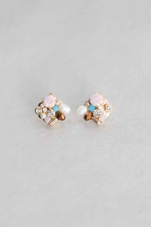 Emelia Stud Earrings - Beau&Arrow