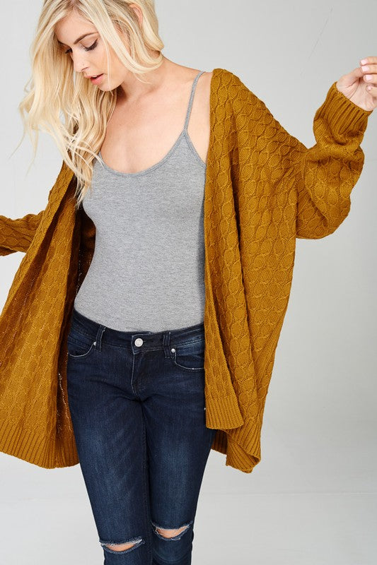 The Georgia Mustard Cardigan