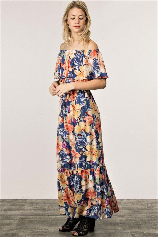 The Moana Off the Shoulder Maxi